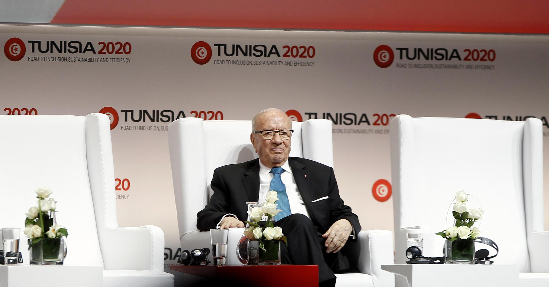 Shugaba Beji Caid Essebsi na Tunusia
