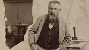 Auguste Rodin (1840 - 1917).