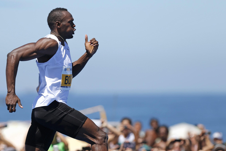 Nyota wa mbio fupi wa Jamaica Usain Bolt