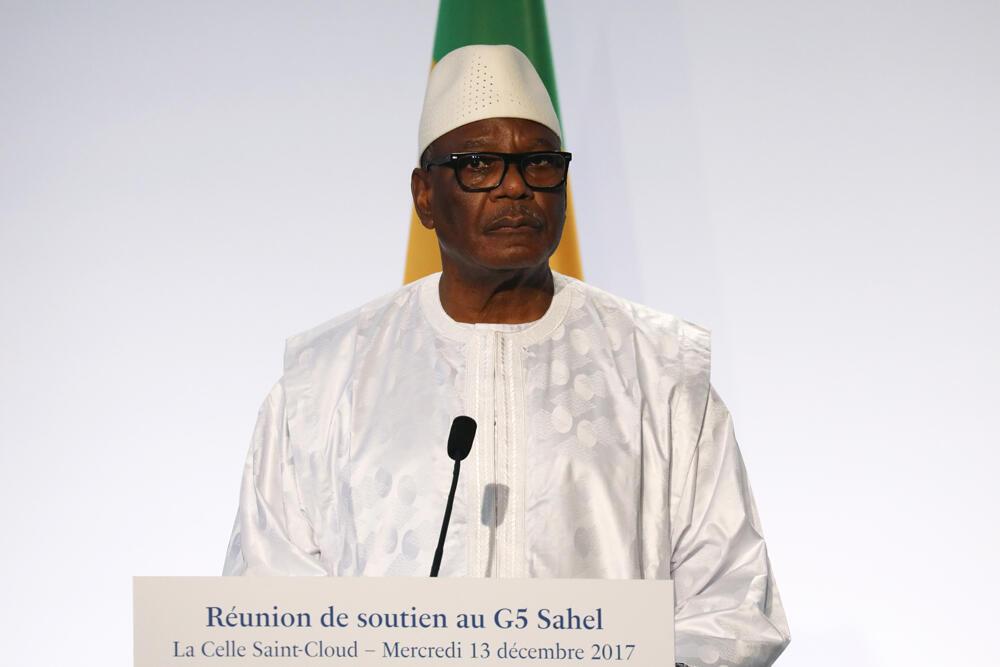 Rais wa Mali Ibrahim Boubacar Keïta Desemba 13, 2017