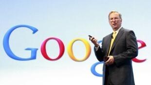 Eric Schmidt, director de Google.