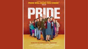 L'affiche du film <i>Pride</i>.