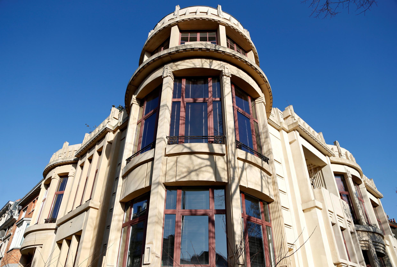 Le groupe Semlex basé à Bruxelles d'après l'enquête de Philippe Engels et David Lewis aurait remporté des marchés illégaux en Afrique (vue sur les bureaux bruxellois de Semlex).