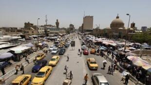 伊拉克首都巴格达街景