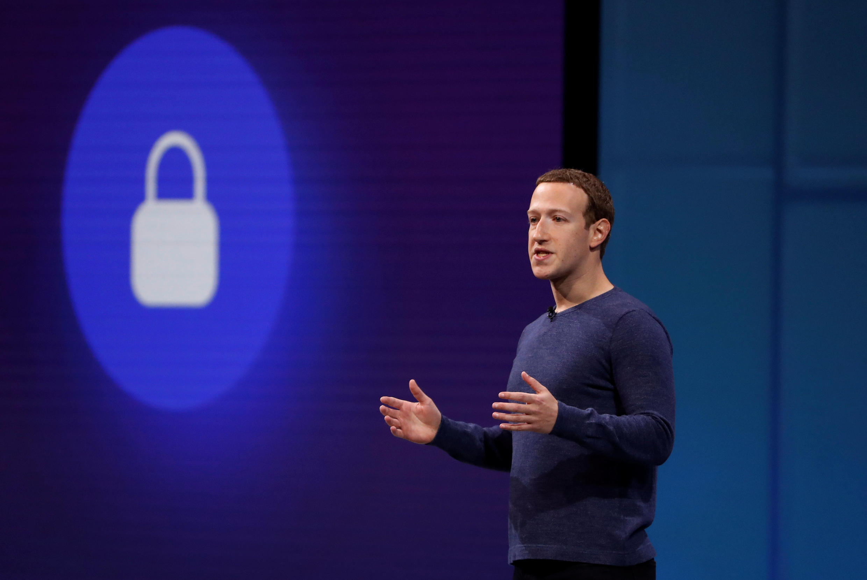 Mark Zuckerberg phát biểu tại một hội nghị  ở San Jose, California, ngày 01/05/2018.