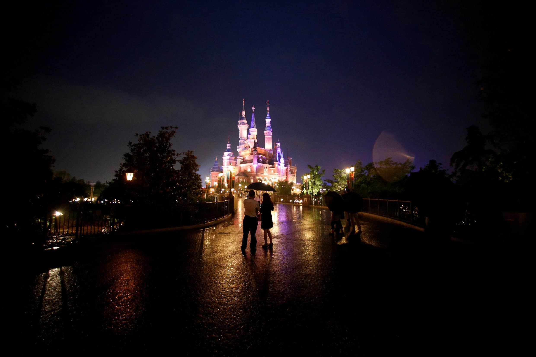 Le parc Disney de Shanghai, en Chine (Image d'illustration).