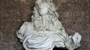 Бюст Людовика XIV работы Джованни Лоренцо Бернини, Версаль, салон Дианы