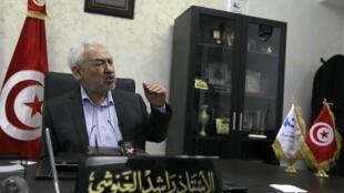 راشد غنوشی در گفتگو با خبرگزاری رویترز. ٢٤ بهمن/ ١٢ فوریه ٢٠١٣