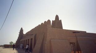 A mesquita Djinguereber em Timbuktu, Mali.