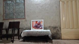 Au domicile du guide Fiacre Gbédji, durant une cérémonie à sa mémoire