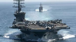 """美国海军""""尼米兹号""""航空母舰资料图片"""