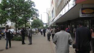 Nairobi, la capitale du Kenya.