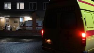 ambulance Navalny
