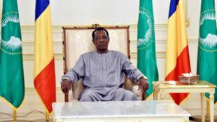 Le président tchadien Idriss Déby.