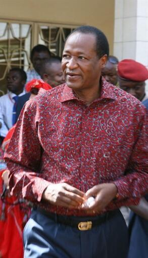 Blaise Compaoré, en novembre 2010.