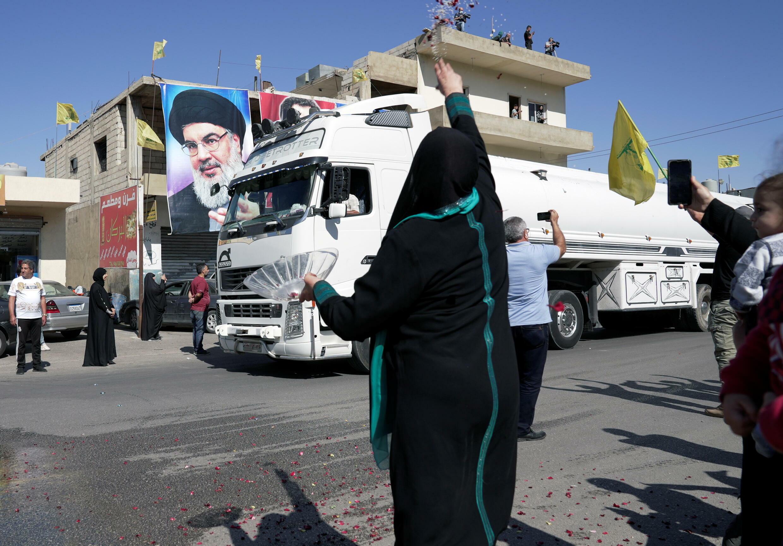 Liban nasrallah pétrole iranien camion fioul