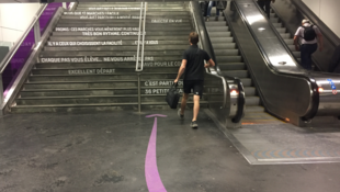 Nudge à la gare de la ville de Lyon ou l'art d'inciter sans contrainte