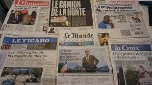 Diários franceses  28/08/2015