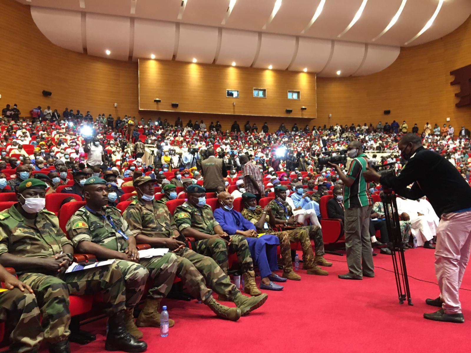 Siku ya kwanza ya mashauriano ya kitaifa, Jumamosi Septemba 5, 2020, Bamako, Mali.