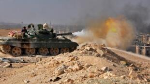پس از عملیات موفقیتآمیز نیروهای سوریه علیه داعش، گروه دولت اسلامی بار دیگر حملات برای بازپس گیری این منطقه را از سر گرفته است. تصویر از آرشیو