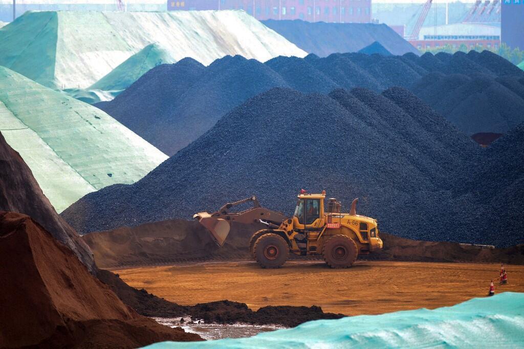 Chine - fer - matières premières