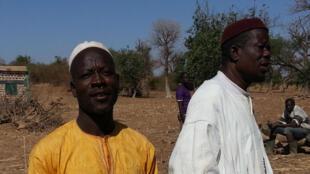 Sawadogo Moustapha, agriculteur dans le village de Tantoaga.