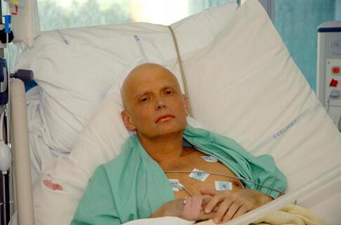 Александр Литвиненко в ноябре 2006 г.