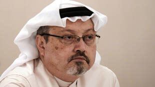 Saudi journalist Jamal Khashoggi shown in a 2014 file picture