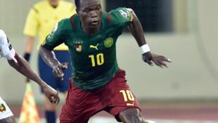 Le Camerounais Vincent Aboubakar.