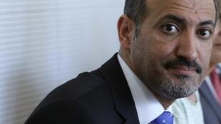 Le chef de l'opposition syrienne, Ahmad Jarba, le 24 juillet 2013.