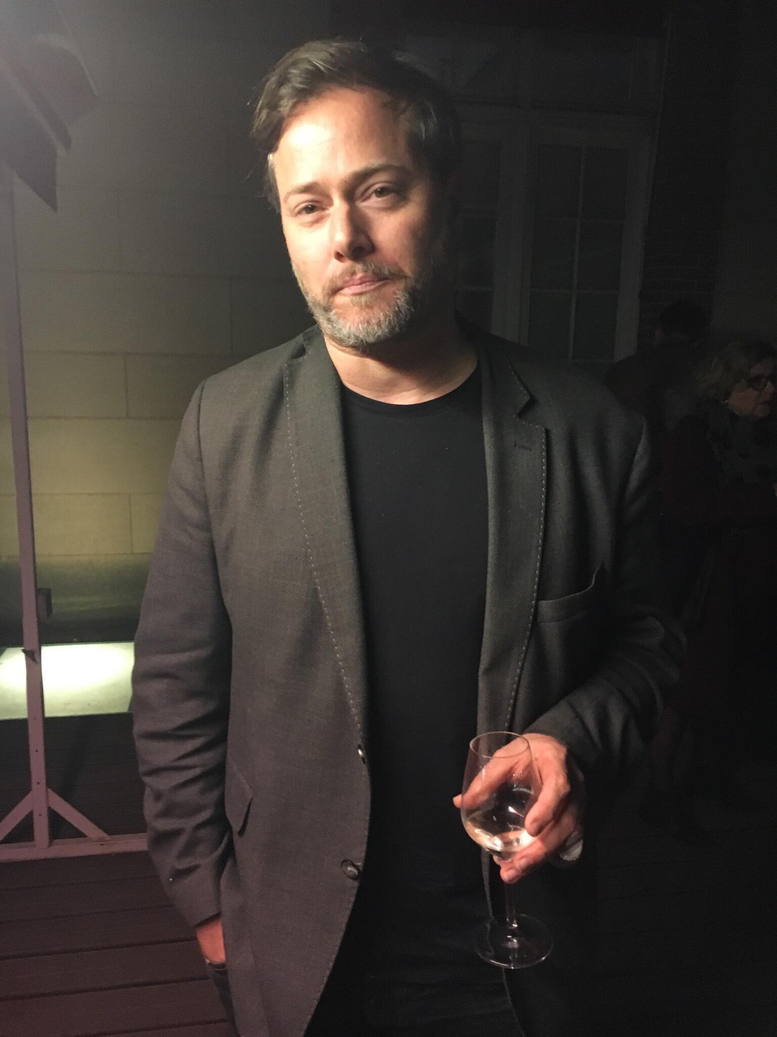 O diretor de teatro suíço, Milo Rau.