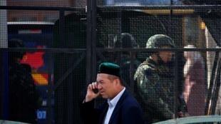 Wani dan kabilar Uighur a garin Urumqi, yankin Xinjiang a China