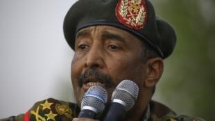 Le général General Abdel Fattah al-Burhan, le 29 juin 2019.