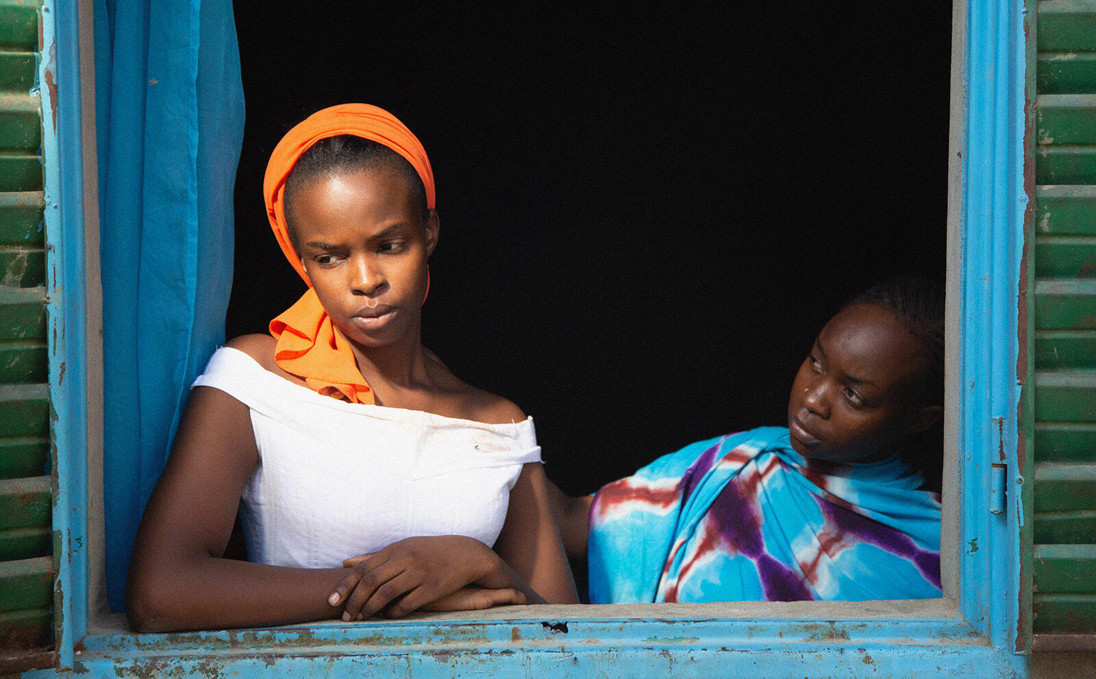 « Lingui, les liens sacrés », film de Mahamat-Saleh Haroun (Tchad), en lice pour la Palme d'or au Festival de Cannes 2021.  © Pili Films/Mathieu Giombini