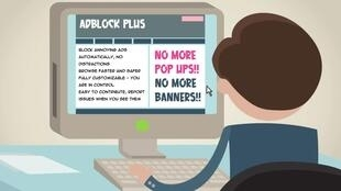 Adblock Plus allows its users to block ads displayed on the internet
