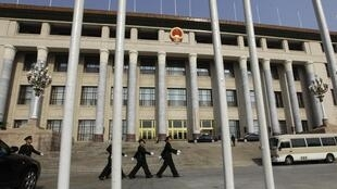 北京人大会堂(资料图片)。