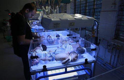 2020-10-20 india children infants babies birth hospital