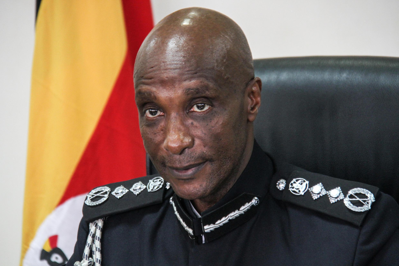Aliyewahi kuwa mkuu wa jeshi la polisi Uganda Kale Kayihura.