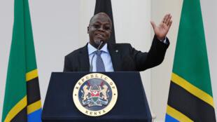 Le président tanzanien John Magufuli.