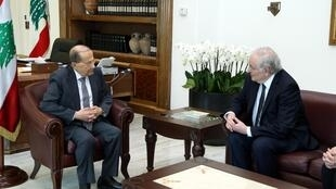Le vendredi 7 avril, le candidat de Solidarité et progrès à l'élection présidentielle française, Jacques Cheminade, s'est entretenu avec le président libanais, Michel Aoun.