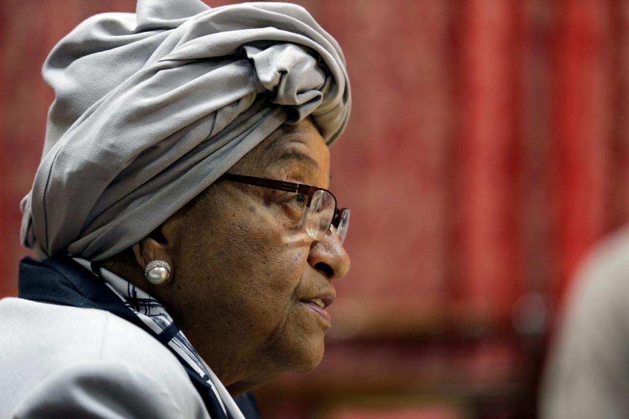 Ellen Johnson Sirleaf, antiga Presidente da Libéria.