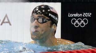 美国游泳健将菲尔普斯