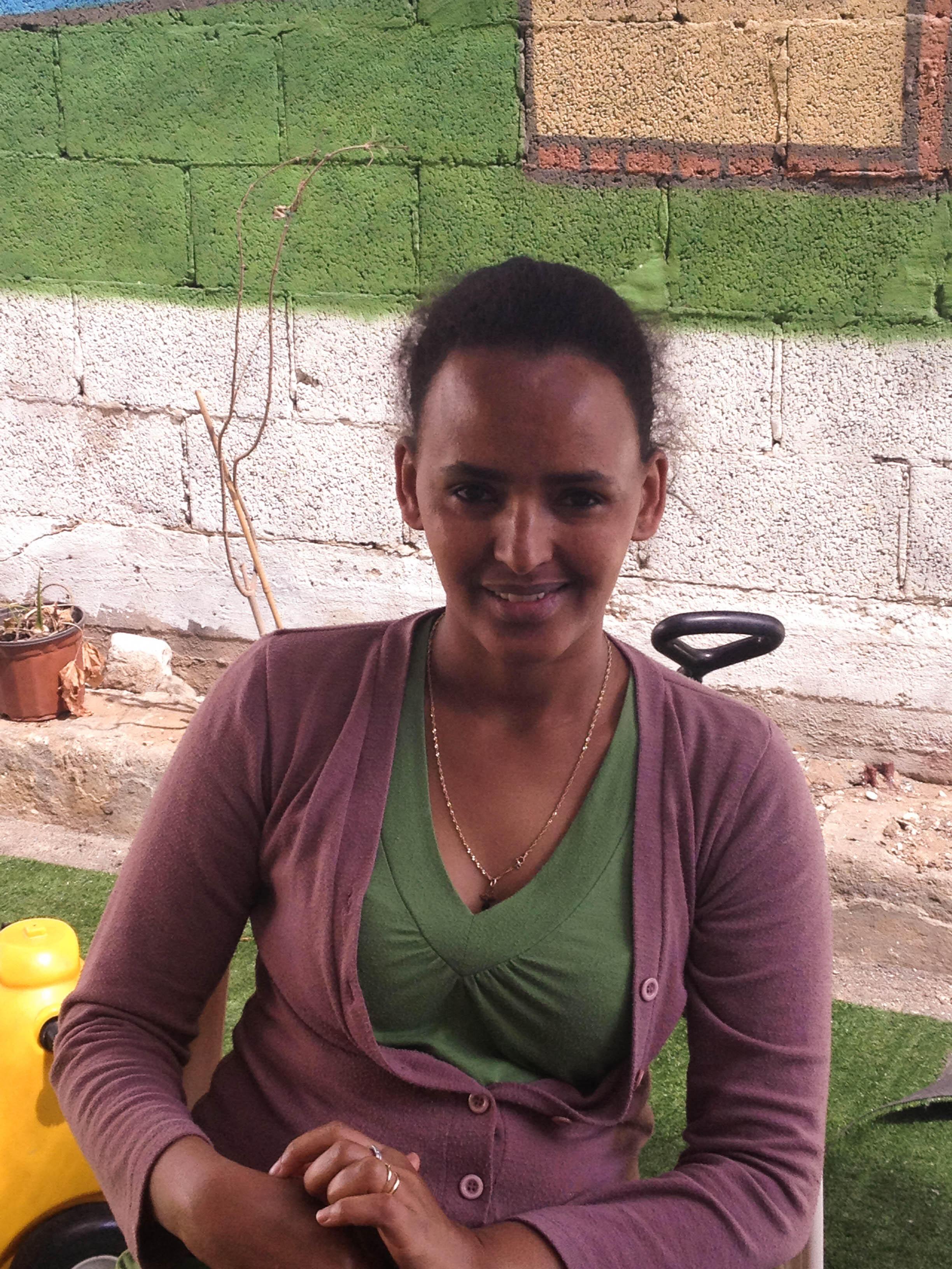 Zebib Sultan set up the Eritrean Community Women's Centre in Tel Aviv