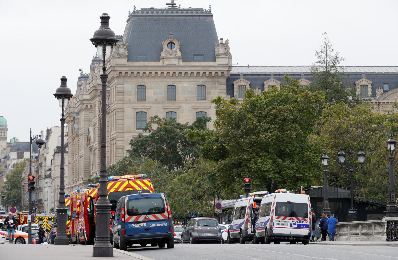 Sở Cảnh Sát Paris, Pháp, nơi xẩy ra vụ tấn công làm 4 người thiệt mạng ngày 03/10/2019.