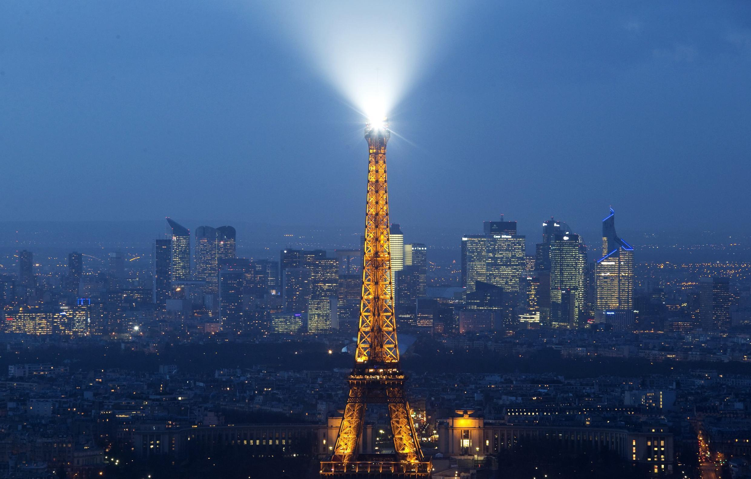 Drones were spotted flying over Paris for two nights running on 24 and 25 February.