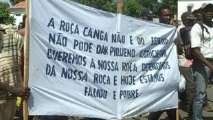 Reivindicações dos proprietários da Roça Cangá, Trindade, São Tomé