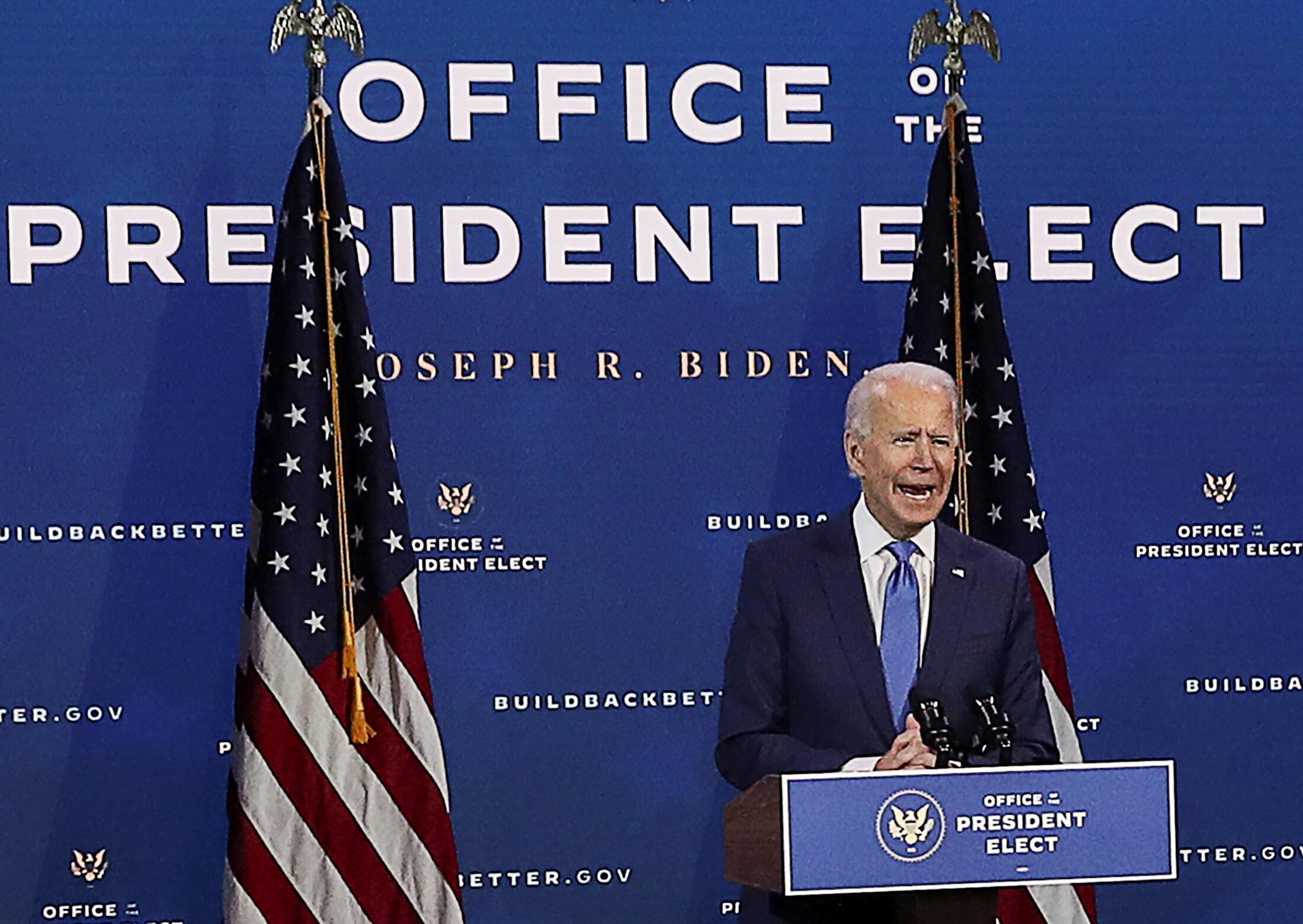 États-Unis - Joe Biden - président élu