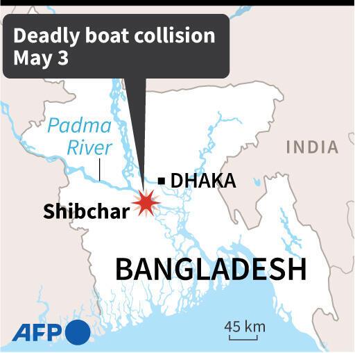 Bangladesh boat collision