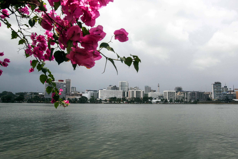 Une vue d'Abidjan.