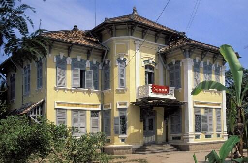Căn nhà của bà Marguerite Duras tại Sa Đéc AFP /C. Boisvieux